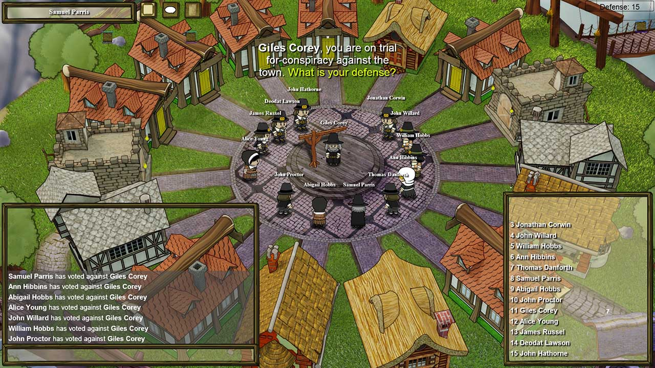 How to whisper in Town of Salem